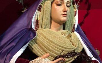 LOJA. La Virgen de las Angustias de hebrea