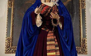 LOJA. La Virgen de la Luz de viste de hebrea