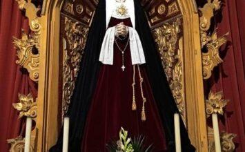 PELIGROS. La Virgen de los Dolores de hebrea