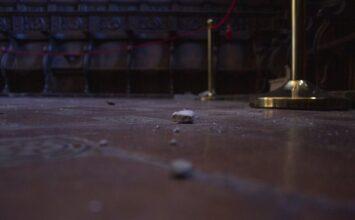 El monasterio de San Jerónimo también sufre por los terremotos