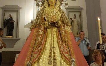 Ya está en la Catedral la Virgen de los Dolores