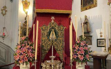 Altar de cultos del Rocío