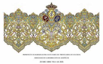 ALMUÑÉCAR. Álvaro Abril diseña el palio del Triunfo