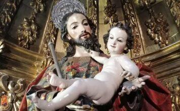 San José en la basílica de las Angustias