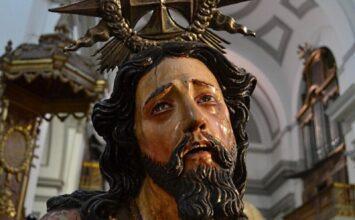 SANTA FE. En restauración Jesús Atado a la Columna