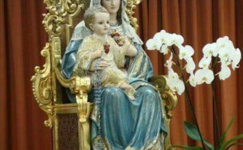 Se restaura el Inmaculado Corazón de María