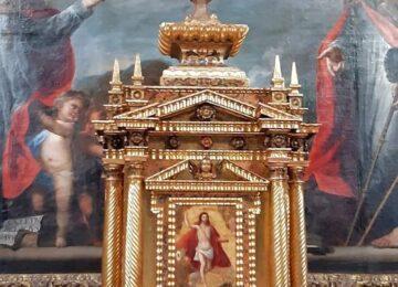 Restaurado el sagrario de la Magdalena