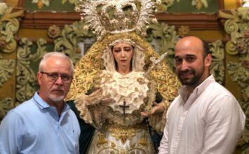 MOTRIL. Visita del escultor de la Misericordia a su Virgen