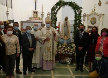 GUADIX. Bendecida la nueva Virgen de Fátima