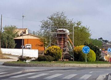 GUADIX. Se prepara el monumento a San Torcuato