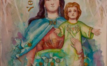 Cartel de María Auxiliadora de la Alhambra
