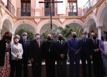 Málaga inaugura la exposición del centenario de la Agrupación de Cofradías