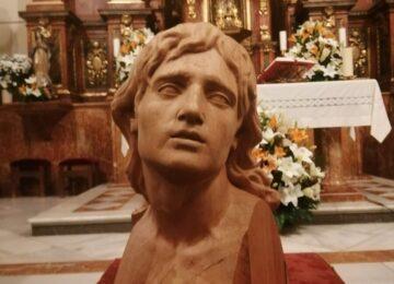 Ferroviarios presentó el busto de su San Juan
