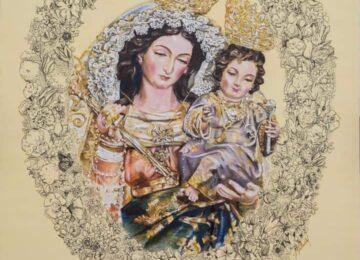 GABIA. Presentado el cartel de la Virgen de las Nieves