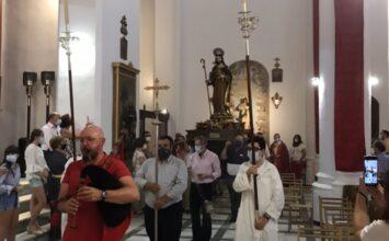 GUADIX. Procesión claustral de Santiago Apóstol