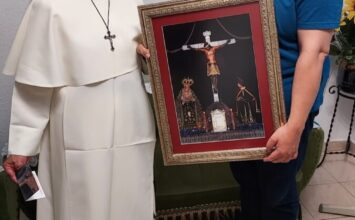 Cuadro de San Agustín para el Hogar Sacerdotal