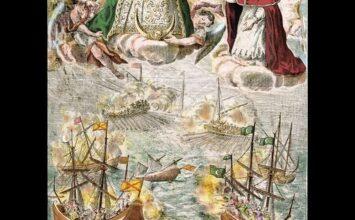 Cartel de la Archicofradía del Rosario