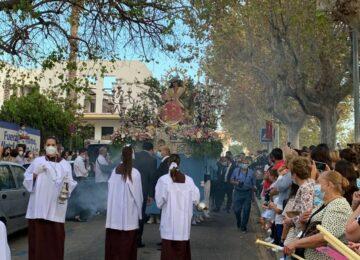 Las primeras procesiones de la diócesis
