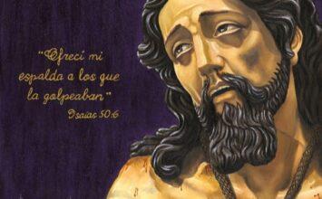 SANTA FE. Restaurado Jesús Atado a la Columna