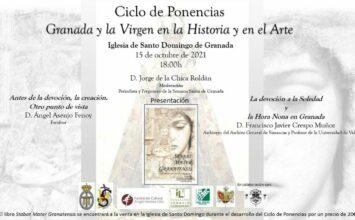 Conferencia organizada por la hermandad de 'Las Chías'
